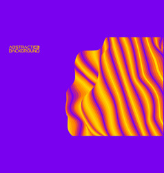 eps 10 colorful wave background digital vector image