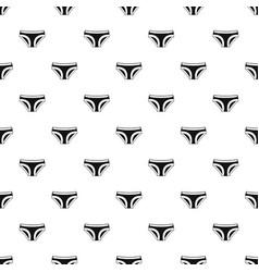female underwear pattern vector image