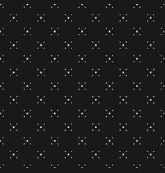 Geometric seamless pattern with tiny diamond vector