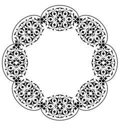 Ottoman motifs design series ninety three vector