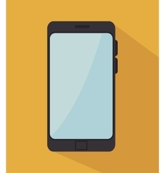 smartphone technology modern icon vector image