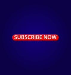 Subscribe now template design vector