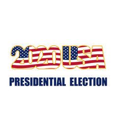United states presidential election 2020 one vector