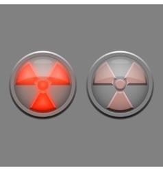Danger lights vector image