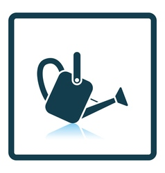 Watering can icon vector image vector image