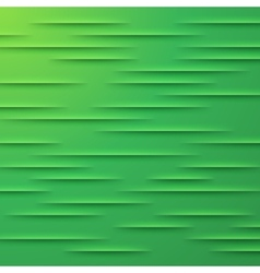 Abstract background with green layers vector image
