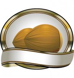 coca nuts vector image vector image