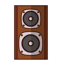 concert speaker icon image vector image vector image