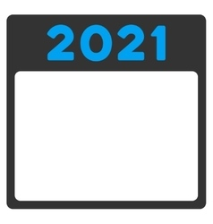 2021 Binder Icon vector image
