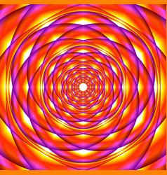 abstract vivid shapes vector image