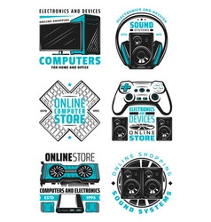 audio video home appliance and devices vector image