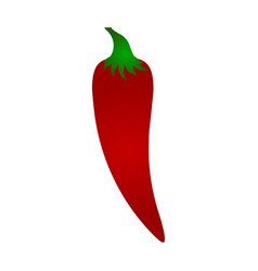 chili icon pepper icon vector image