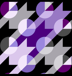 Classic polka dot pattern in a patchwork collage vector