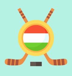 Hockey in Hungary vector