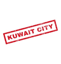 Kuwait City Rubber Stamp vector