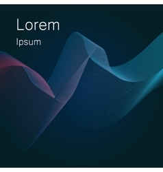 Mesh background abstract design vector