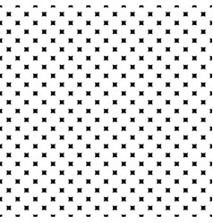 Monochrome seamless pattern rounded squares vector