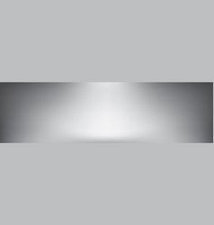 panoramic greyscale gradient background vector image