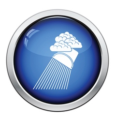 Rainfall like from bucket icon vector image