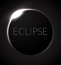 Eclipse vector image