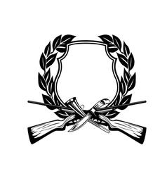framework hunting theme vector image