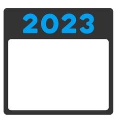 2023 Calendar Icon vector image