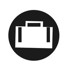 Business briefcase symbol vector