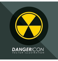 danger icon vector image