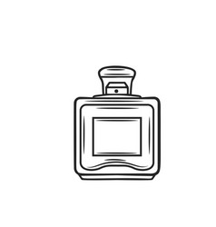 perfume icon outline vector image