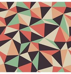 retro triangle pattern seamless vector image
