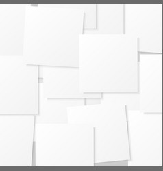 sticks note paper on white background vector image