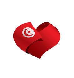 tunisia flag vector image