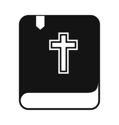 Bible single simple icon vector image