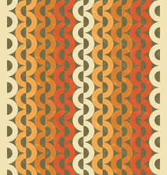 Seamless chain grange pattern vector