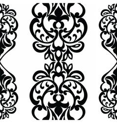 classic decor pattern element vector image
