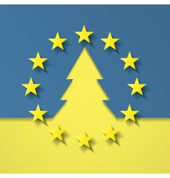 Europe Ukraine vector image
