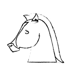 horse icon image vector image