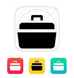 Open case icon vector image