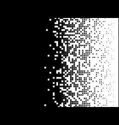 pixel mosaic background vector image