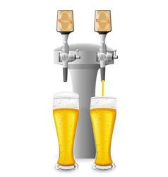 beer equipment 02 vector image