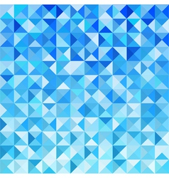 Blue Mosaic Background Wallpaper vector image