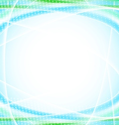Abstract blue background for your design template vector image vector image