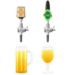 beer equipment 04 vector image