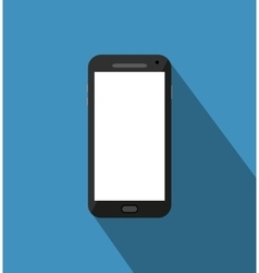 Black phone standalone vector