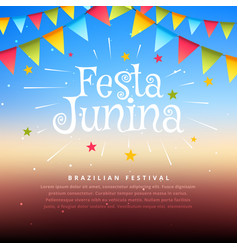 Brazil festival festa junina vector