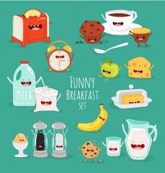 Get Breakfast Buffet Cartoon Background