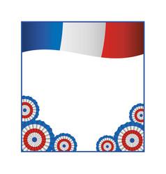 France flag symbol design vector