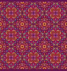 geometric ethnic seamless pattern ornamental vector image