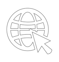 Go web icon vector