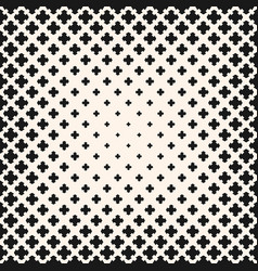 halftone seamless texture with flower vector image